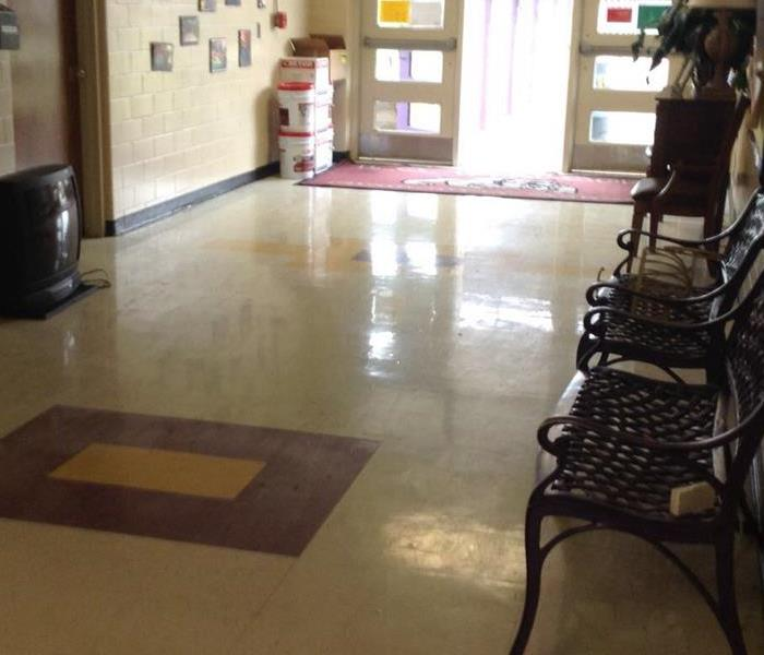School Water Damage After