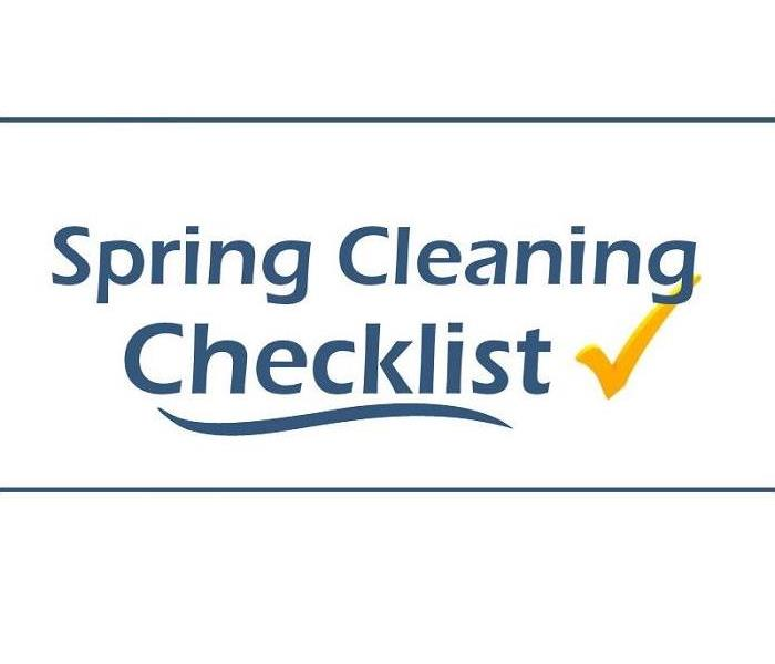wording, Spring Cleaning Checklist